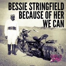 Get familiar with Bessie Stringfield