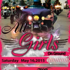 3RD ANNUAL ALL GIRLS ON GROUND RIDE