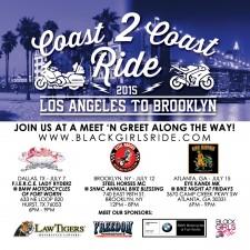 Coast 2 Coast Ride 2015