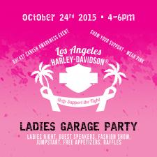 LA Harley of Anaheim Pink Garage Party