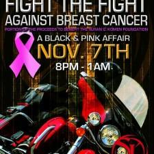 Set Life Magazine Presents Fight the Black & Pink Affair - Saturday, Nov 7, 2015