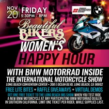 Beautiful Bikers Happy Hour with BMW Motorrad – Friday, Nov 20, 2015