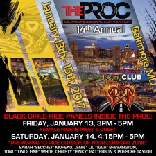 Black Girls Ride heads to the 2017 PRO Convention