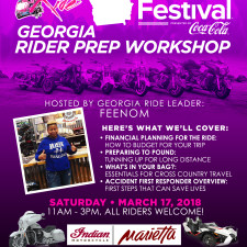 BGR to Essence Fest: Georgia Rider Prep Workshop - March 17, 2018