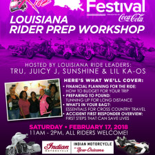 BGR to Essence Fest: Louisiana Rider Prep Workshop - Feb 17, 2018