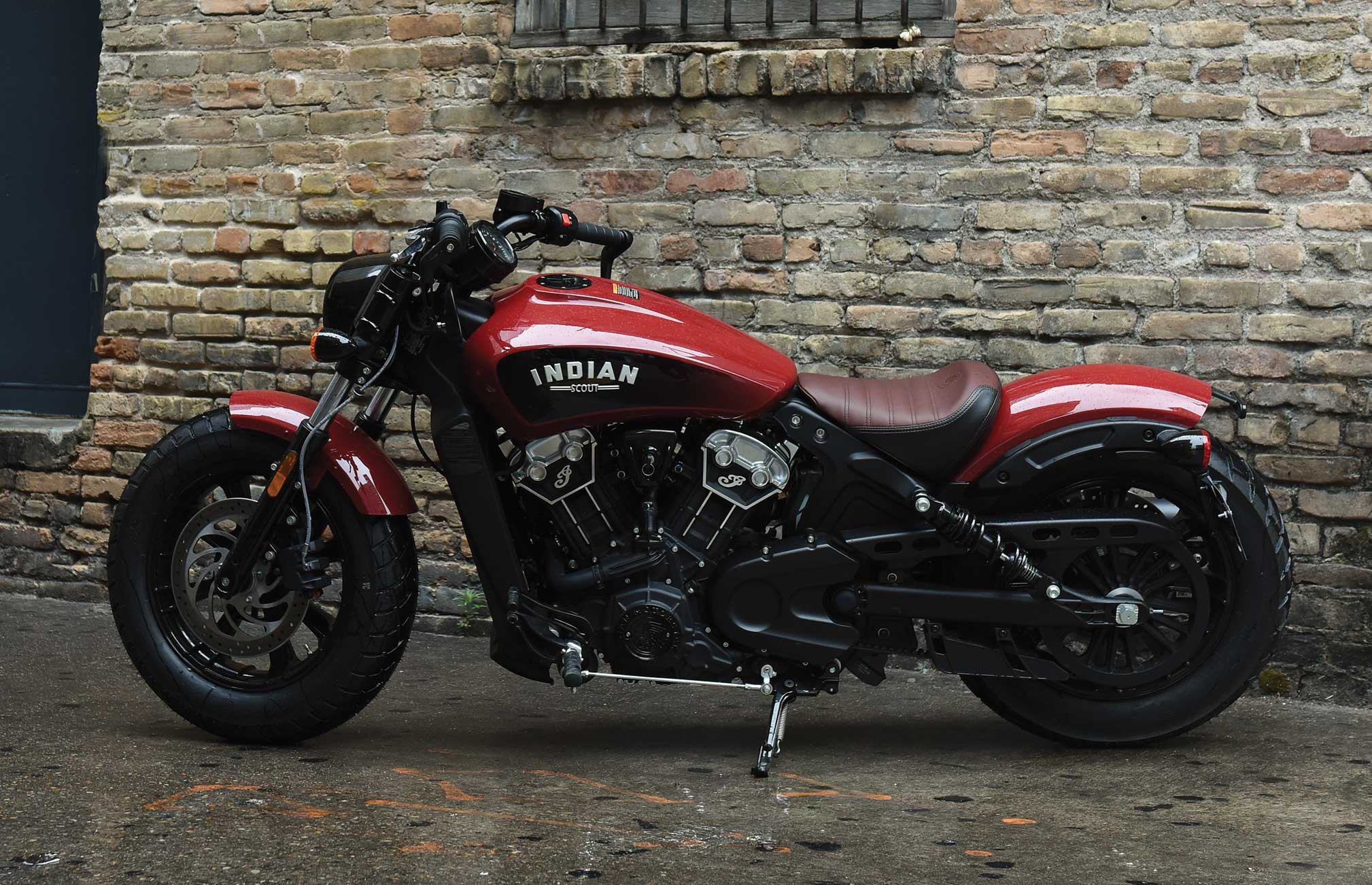 Indian Motorcycle S Scout Bobber Build Off Competition