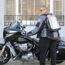 Geared Up: Motochic's Lauren Sport Bag