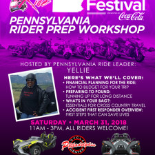 BGR to Essence Fest: Pennsylvania Rider Prep Workshop - March 31, 2018
