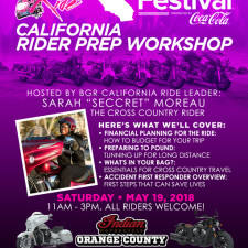 BGR to Essence Fest: California Rider Prep Workshop - May 19, 2018