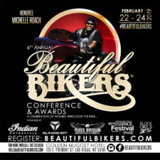 "Michelle ""Squeaky"" Roach selected as 6th Beautiful Bikers Conference & Awards Renaissance Rider Honoree"