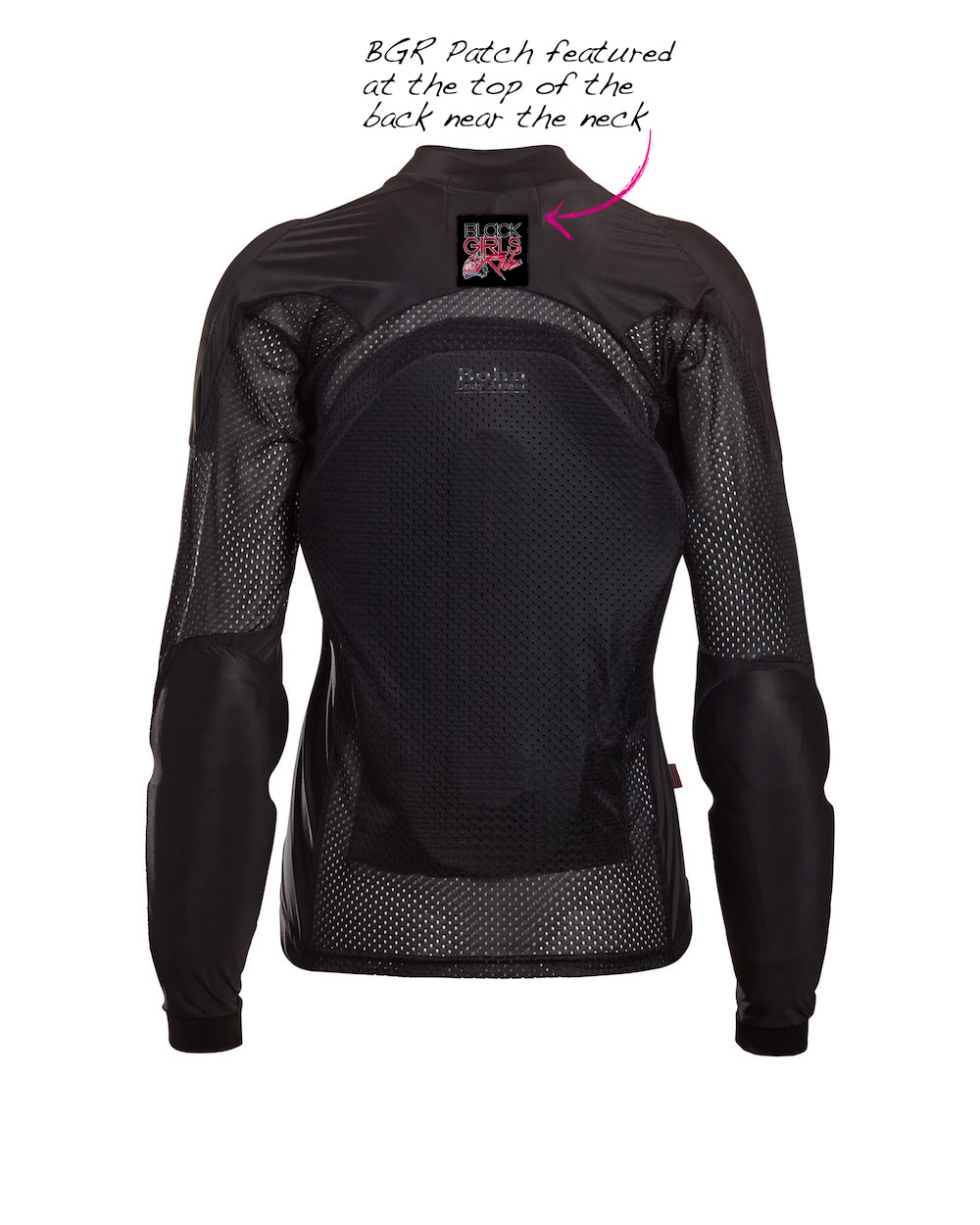 f9cd2a0d2e6 BGR + Bohn Armor All-Season Armored Riding Shirt – Black/Pink ...