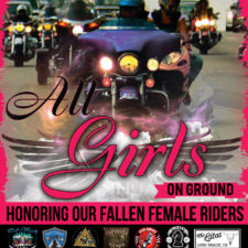All Girls On Ground for International Female Ride Day 2020