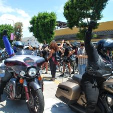 Ride for Justice to Leimert Park, LA