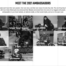 Introducing Indian Motorcycle's 2021 Ambassadors
